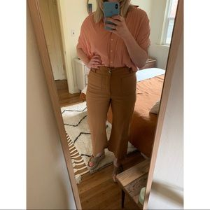 Anthropologie high waist stretchy pants sz 32